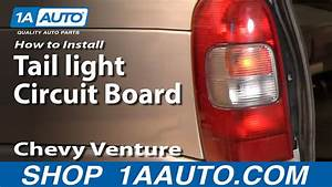 How To Replace Tail Light Circuit Board 97