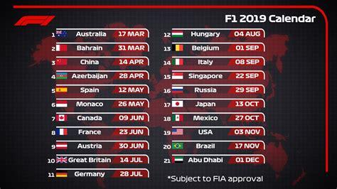 formula calendario revelado autosport autosport