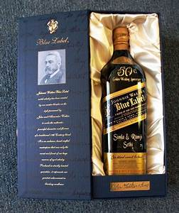 liquor bottle artwork and examples With blue label engraved
