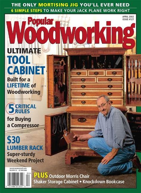 popular woodworking  april   magazine