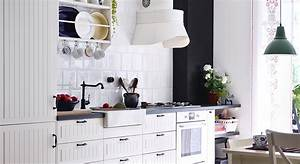 meuble cuisine hygena latest prix cuisine hygena pose With meuble de cuisine ilot central 7 cuisine hygena belgravia blanc pas cher sur cuisine