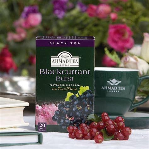 Aromatizēta melnā tēja Ahmad Blackcurrant Burst - Biroja ...