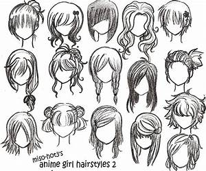 Anime Girl Hairstyles Miso | Hairstyles Ideas