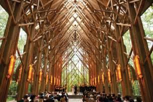 arkansas wedding venues anthony chapel complex wedding chapel garvan gardens
