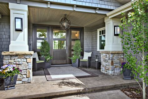 front porch designs porch contemporary  covered entry