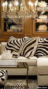 Gorgeous white sectional sofa with zebra pillows love the for Zebra sectional sofa