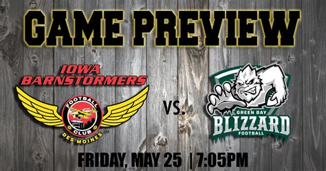 Official Website Of The Iowa Barnstormers