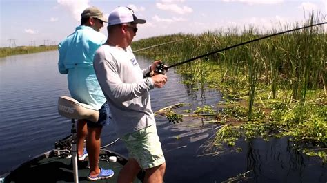 florida fishing bass flipping lake central fish lakes preserve loxahatchee chain