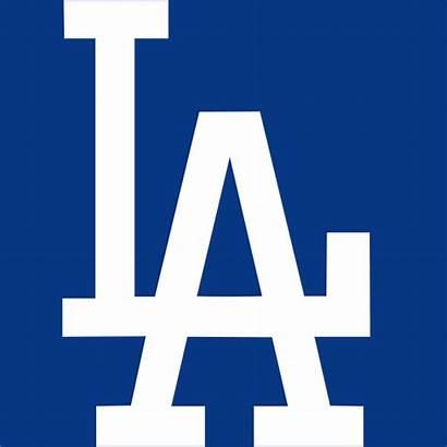 Dodgers Svg Wikimedia Los Angeles Baseball Commons