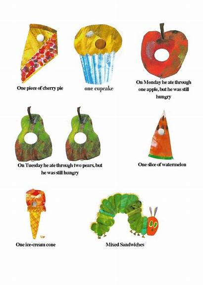 Hungry Caterpillar Printables Clipart Very Pdf Party