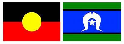 Aboriginal Torres Strait Islander Acknowledgement Australia Flag