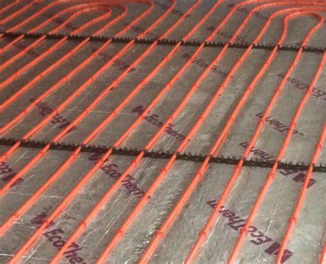 underfloor heating insulation