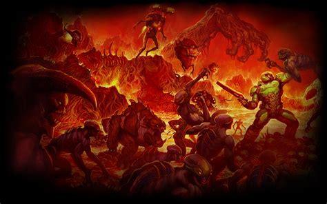 doom background that doom poster doom
