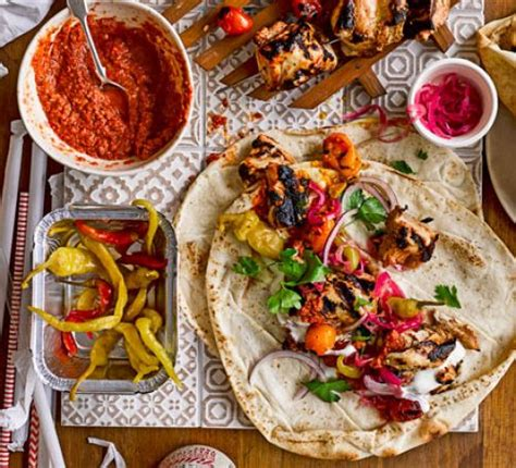 turkish kebab turkish kebabs with tomato chilli sauce recipe bbc good food