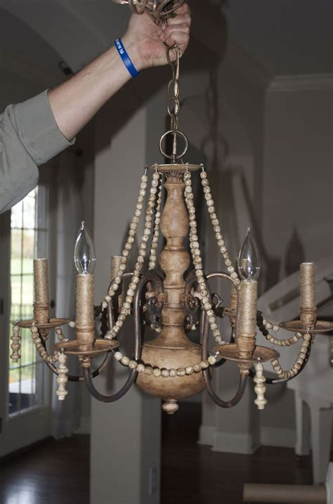 hometalk diy brass chandelier makeover   cheap