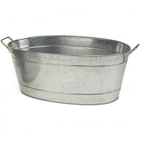 metal water tub creating a tub water garden