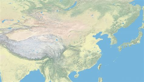 Ģeogrāfiskā karte - Ķīna - 6,302 x 3,619 Pikselis - 4.72 ...