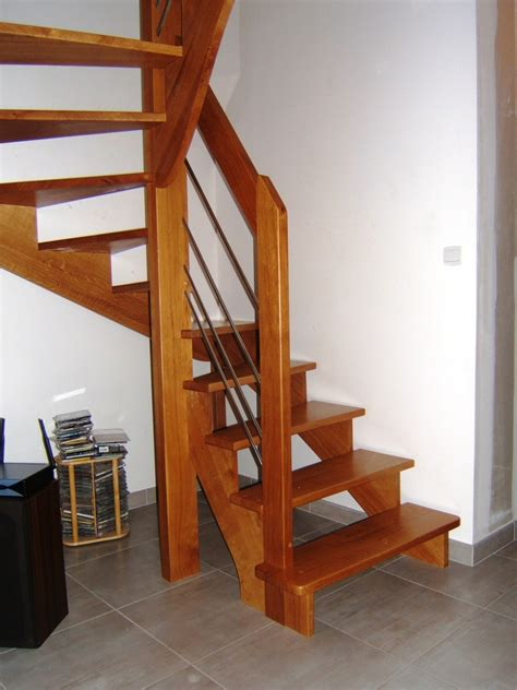 escalier bois 2 4 tournant en ch 234 ne 224 la penne sur