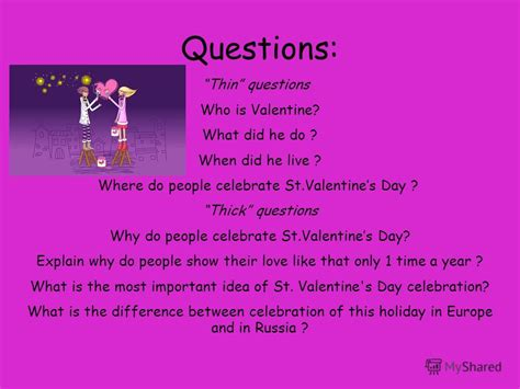 how do people celebrate programmer day in russia презентация на тему quot st valentines day symbols to celebrate to call to give st valentines day