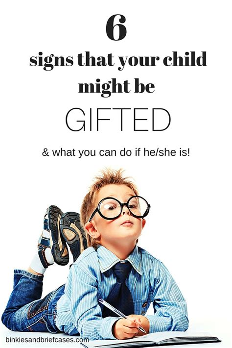 how to tell if your child is gifted binkies and briefcases 203 | Signs that your child might be 2