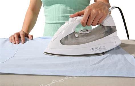 comment repasser le linge comment bien repasser une chemise centrale vapeur