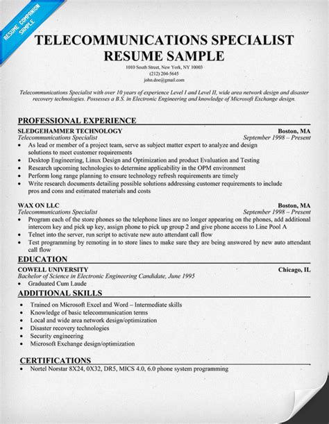 Communications Specialist Resume Exles by Page Not Found The Dress