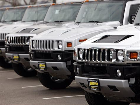 Remember Us? Gm Revists Previous Hummer Bidders To Try To