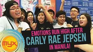 Emotions Run High After CARLY RAE JEPSEN In Manila! - YouTube