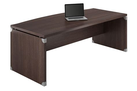 bureau angle wenge x work 05 office desk in laminate available in
