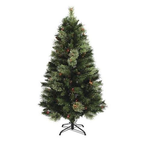 menards christmas lights sale 4 5 prelit davison pine tree multicolor lights at menards 174