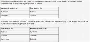 Wyndham Rewards Caesars Entertainment S Total Rewards