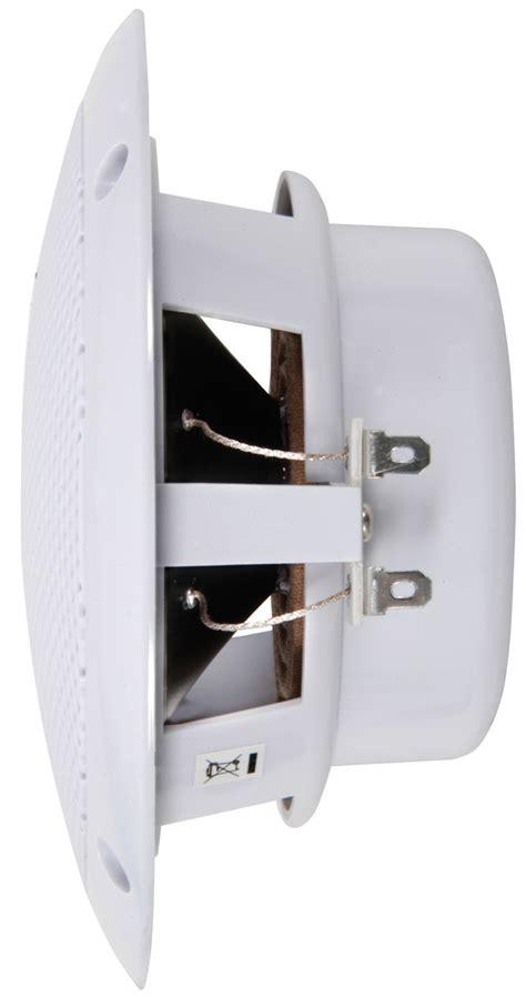 Waterproof Ceiling Speakers For Bathroom 2x Waterproof Bathroom Kitchen Patio Ceiling Speakers 13cm