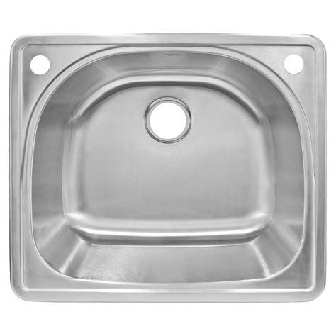 best gauge for stainless steel sink stainless steel sink top mount 20 gauge lesscare lt91