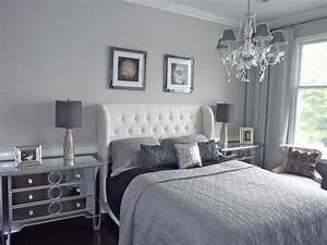 Interesting, And, Stylish, Design, Ideas, For, A, Grey, Themed, Bedroom