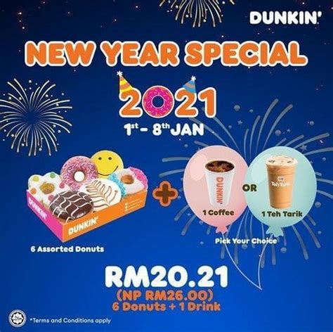 Use this valid community coffee coupons today. 1-8 Jan 2021: Dunkin Donuts New Year Special ...