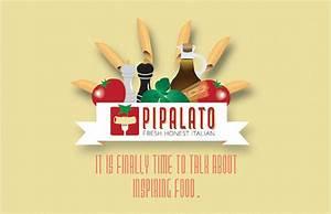 Pipalato Italian Restaurant Postcard / Flyers Pembroke Pines