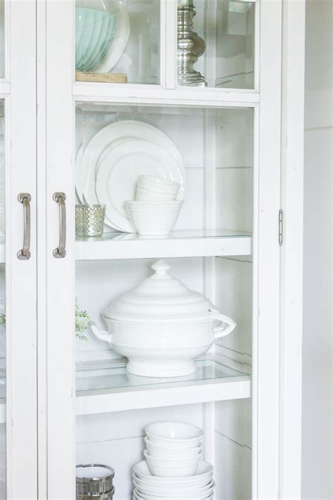 farmhouse home   style  farmhouse china cabinet