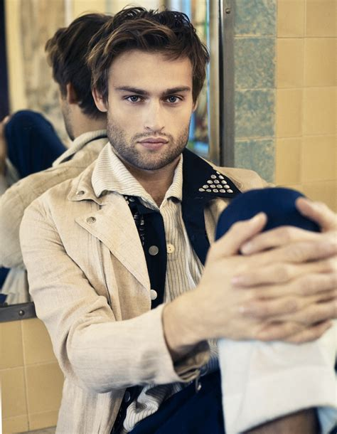Douglas Booth Smoulders in New Shoot for Interview