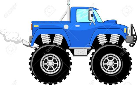 jeep off road silhouette monster truck clipart free download best monster truck