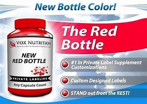 The New Private Label Red Bottle Is Here | Vox Nutrition