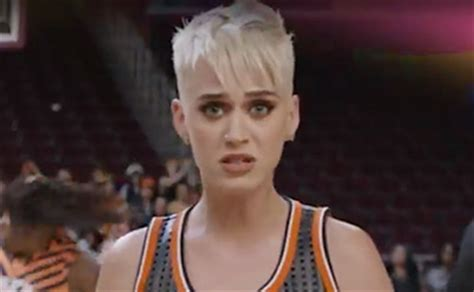 Watch Katy Perry Get Hit In The Face With A Basketball In