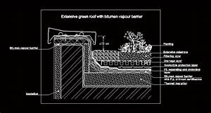 Green Roof Detail DWG Detail for AutoCAD • Designs CAD