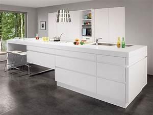 Prix Cuisine Ixina : en photos les plus belles cuisines blanches cuisine blanche ixina ~ Medecine-chirurgie-esthetiques.com Avis de Voitures