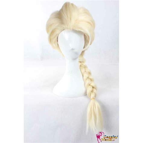 elsa zopf flechten neu per 252 cke wig frozen elsa blond per 252 cke zopf disney stil