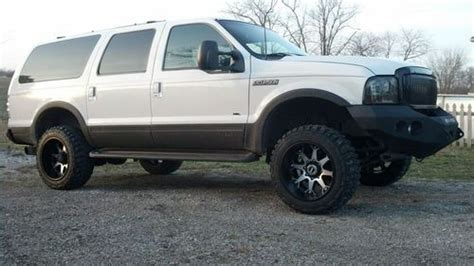 Buy used 2001 ford excursion 7.3 powerstroke diesel lifted
