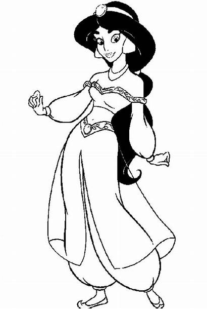Coloring Pages Jasmine Printable