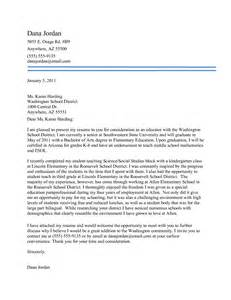 Elementary Teaching Cover Letter Professional Teaching Cover Letter With No Experience Vntask