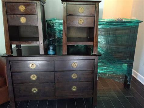 queen bed set pier  imports shanghai queen bedroom