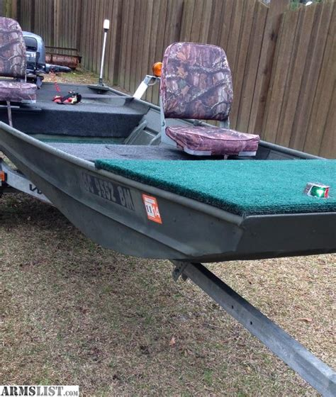 Jon Boat Trailers For Sale Craigslist by Armslist For Sale 2002 Jon Boat W Wesco Trailer 2004