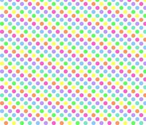 Polka Dot Rainbow fabric - mezzo - Spoonflower